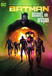 Animated Batman movie: Assault on Arkham