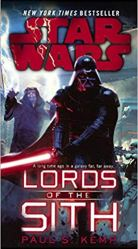Lords of the Sith by Paul S Kemp Image from Amazon.com