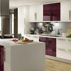 B&q Kitchens Home Depot Kitchen Remodeling B Q Which Raffello High Gloss Aubergine Slab