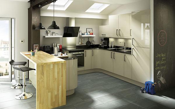 b&q kitchens quarter sawn oak kitchen cabinets b q which santini gloss grey slab fitted
