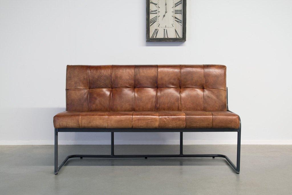 Sitzbnke im VintageStil  Industriedesign von Station7