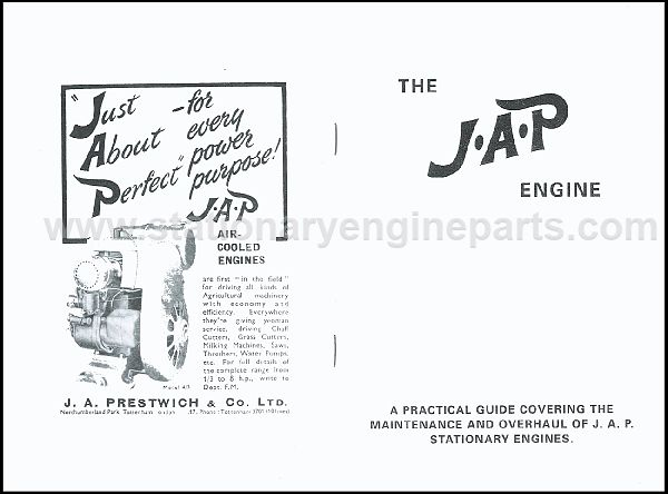 A Practical Guide For The Maintenance & Overhaul Of JAP