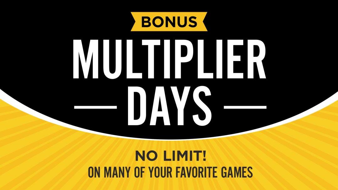 Bonus Multiplier Days January 2021