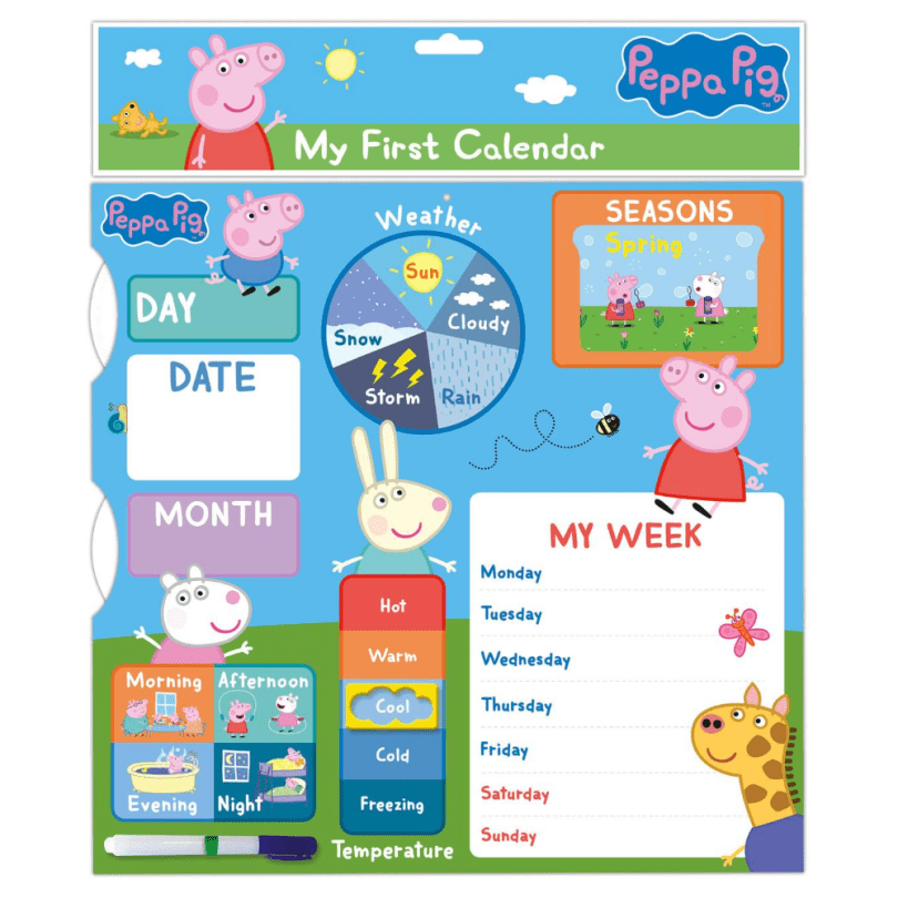 Danilo Promotions Ltd - Peppa Pig My First Calendar