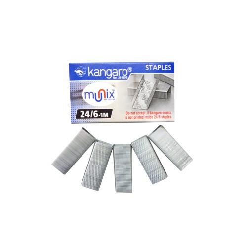 Kangaro Stapler Pins 24 X 6  10 boxes