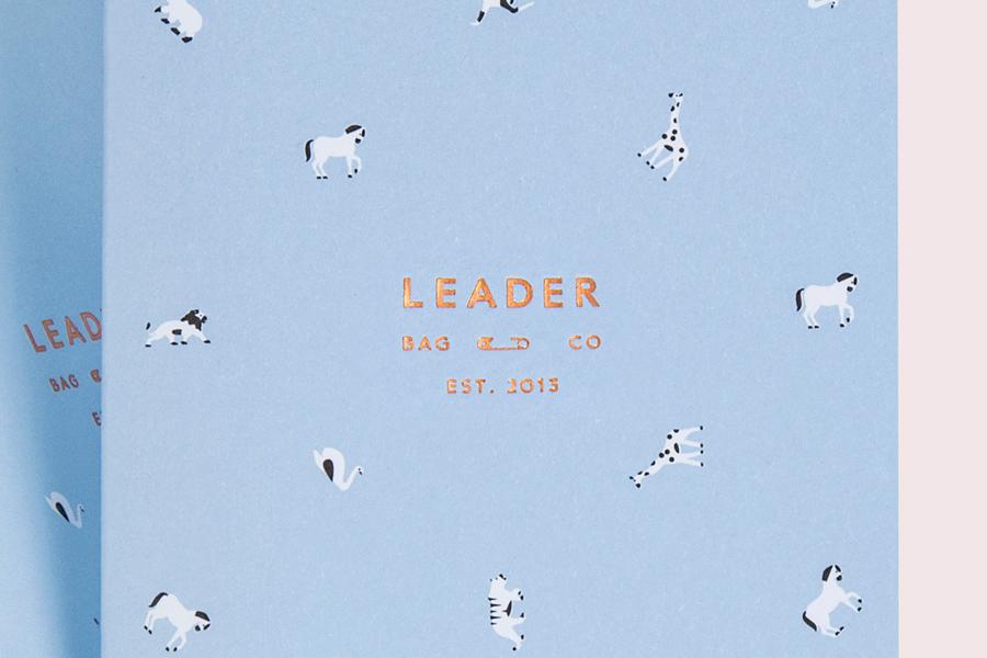 Leader Bag Co branding