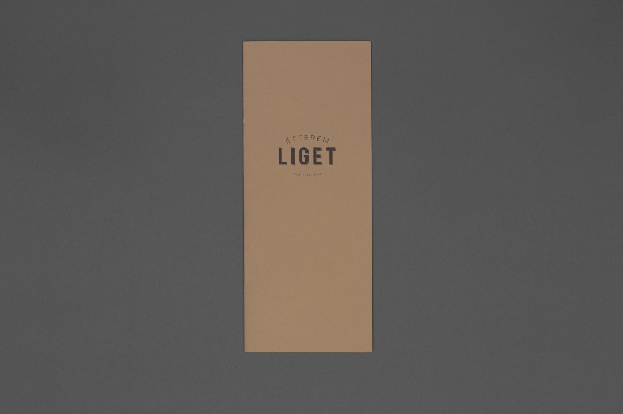 Liget Restaurant branding