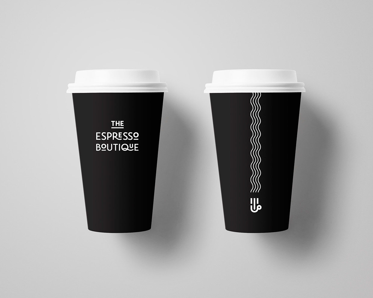The Espresso Boutique branding