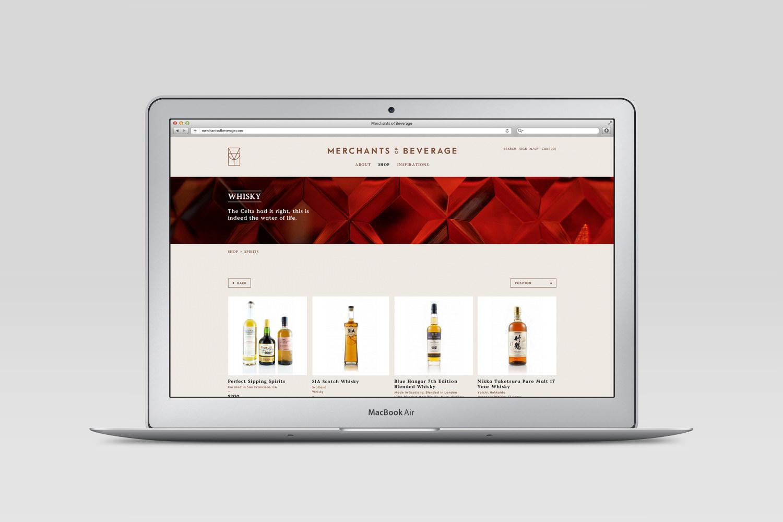 Merchants of Beverage branding