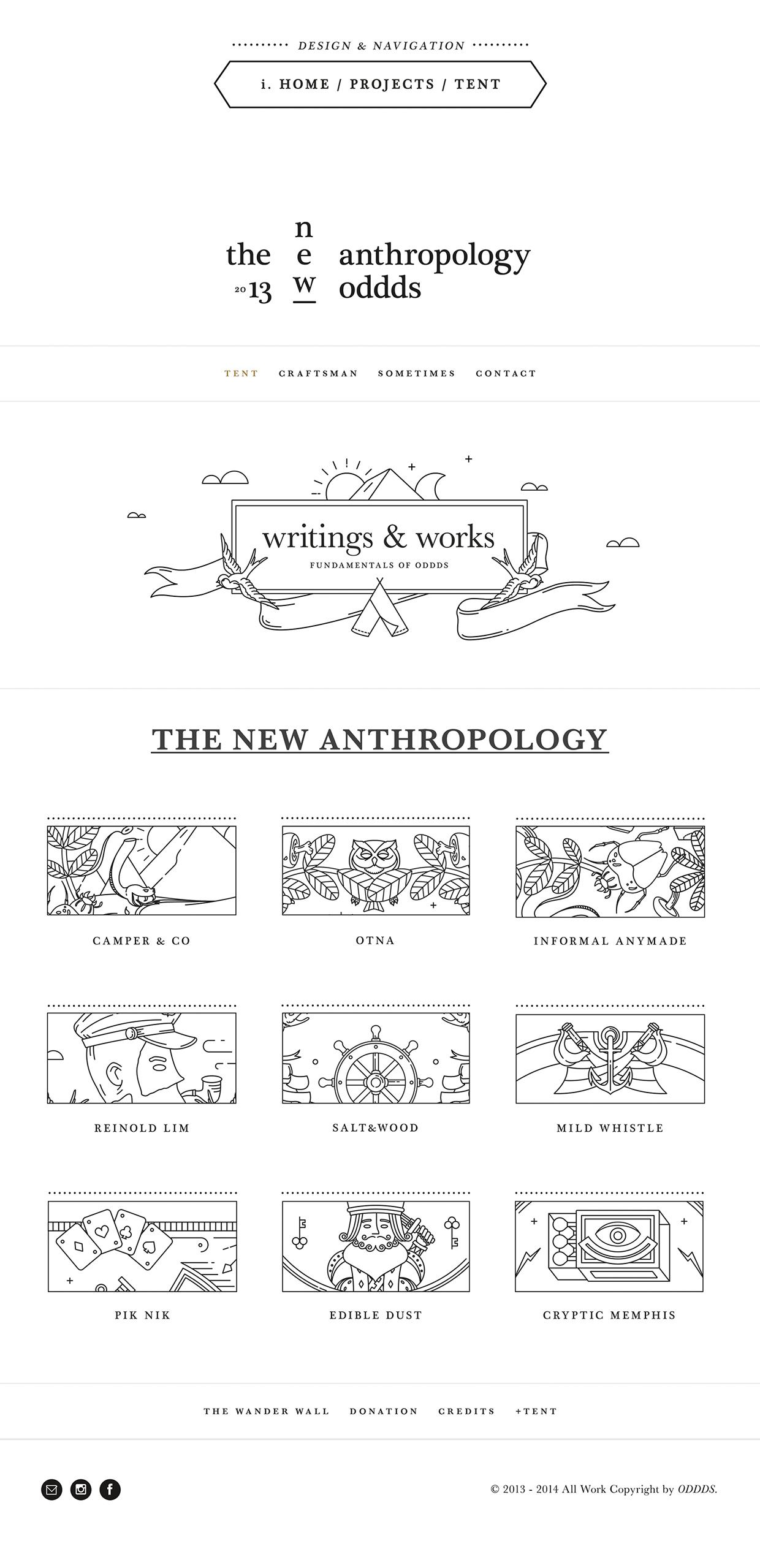 OTNA Oddds The New Anthropology branding