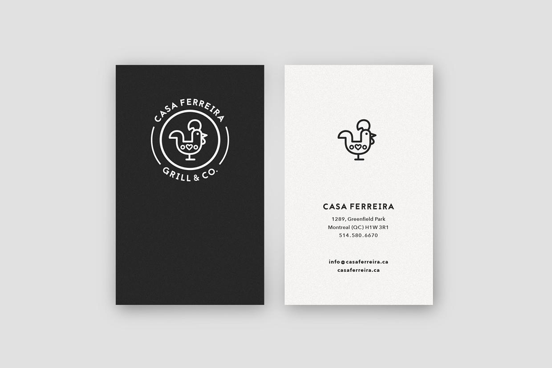 Casa Ferreira branding