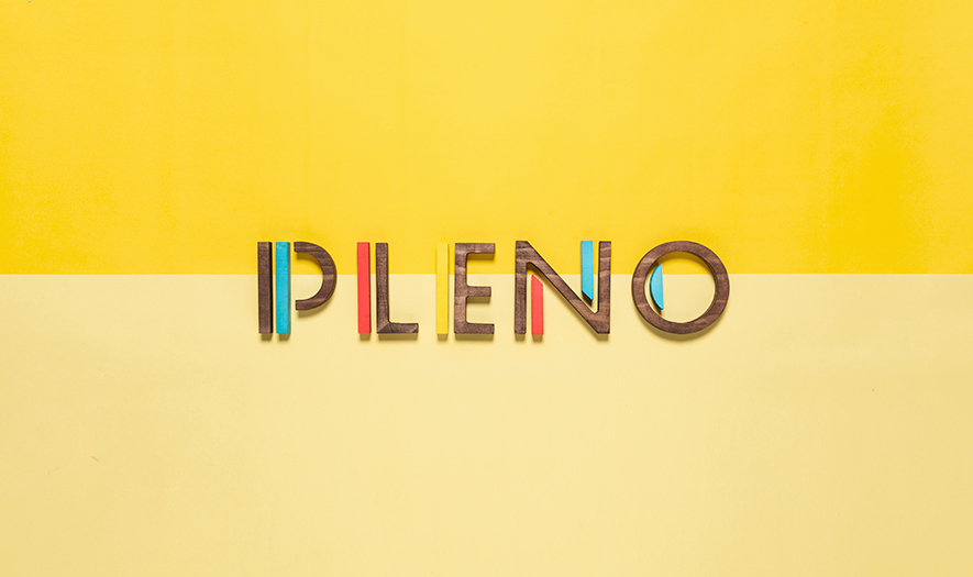 Pleno restaurant branding