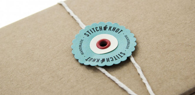 Stitch and Knot branding