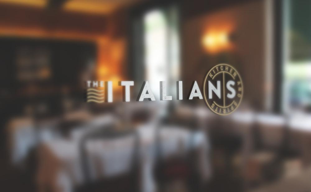 The Italians branding