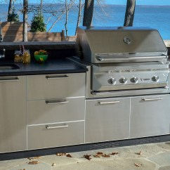 Stainless Steel Outdoor Kitchen Kitchens With Islands Architec A Nice Station