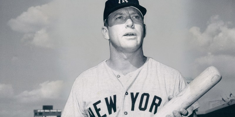 Mickey Mantle career salary statistics