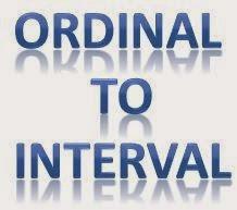 Cara Transformasi Data Ordinal to Interval