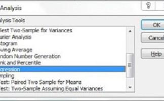 Uji Park dengan Excel