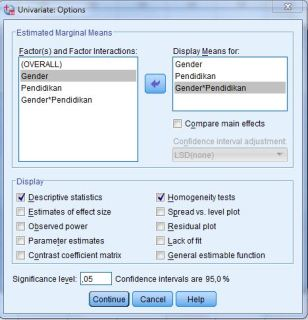 how to use spss for anova