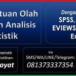 Jasa Olah Data Anwar Hidayat