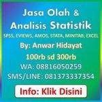 Jasa Analisis Statistik Statistikian