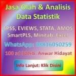jasa analisis statistikian 2018