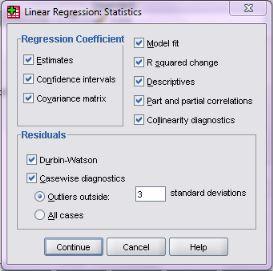 Tahap Uji Normalitas Regresi Linear Berganda dengan SPSS
