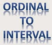 Transformasi Data Ordinal Menjadi Interval