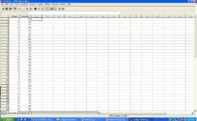 Input Data ke SPSS