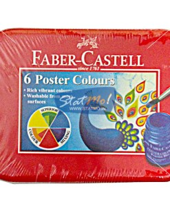 Faber Castell 6 Poster Colours Tin Pack by StatMo.in