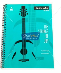 Classmate Spiral Notebook 200 Pages by StatMo.in