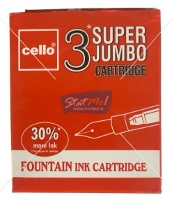 Cello Fountain Ink Super Jumbo Cartridges by StatMo.in