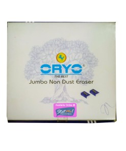 Oryo Jumbo Non Dust Eraser by StatMo.in