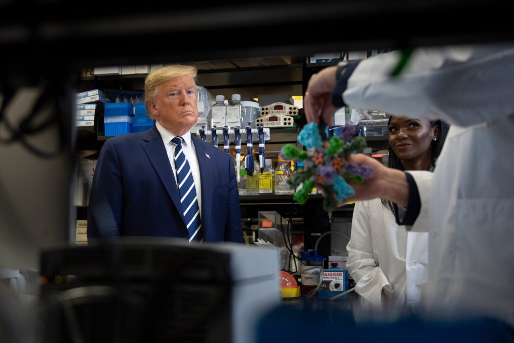 Trump - National Institutes of Health's Vaccine Research Center
