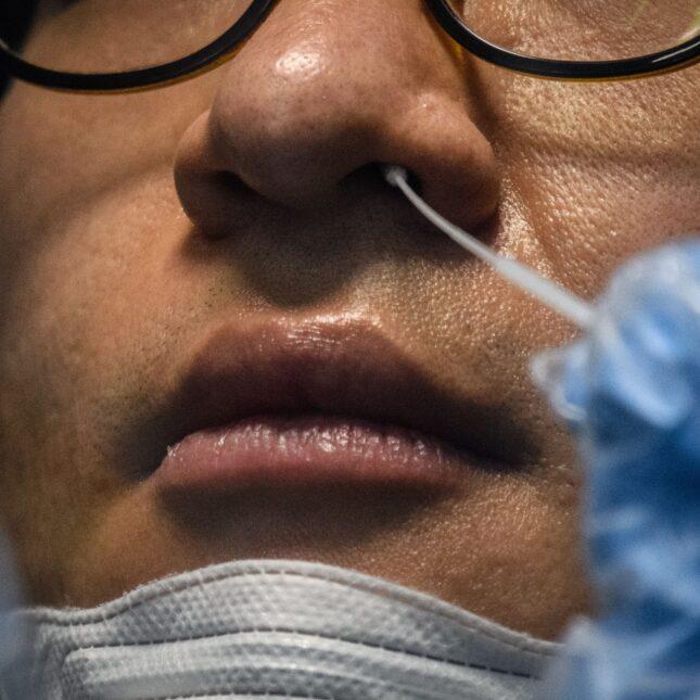 Covid 19 Test Nasal Swab Image
