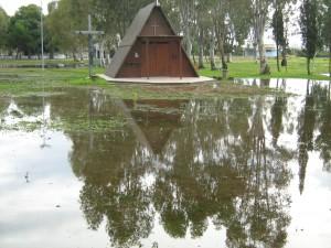 Villaggio Ippocampo, dopo le mareggiate nel novembre del 2009 (fonte image: Stato)