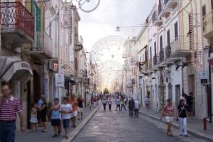 Corso Manfredonia, immagine di Luigi Rignanese