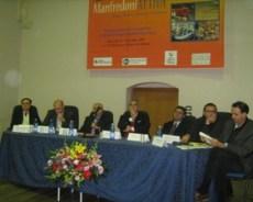 Tavolo dei relatori, Castrignano,Falcone, Zanasi, Giordano, Barbone, Trombetta, Corrado, Nardone, Serlenga