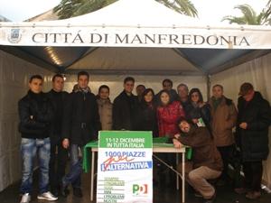Giovanidemocratici Manfredonia (1000 piazze per l'alternativa)