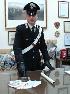 Droga sequestrata con militare (Cc-Ba), immagine d'archivio