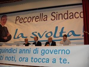 Leone, Pecorella, Pepe e Matera a Manfredonia (presentazione Pec.C.SM- Stato)