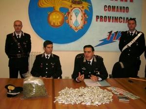 Droga sequestrata Barletta - Canosa di Puglia