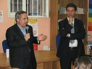 Gianni Mongiello e Sergio Clemente al Comitato