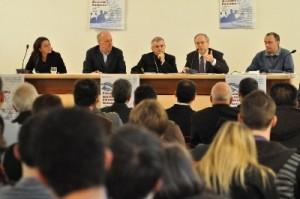 La conferenza stampa di stamane, Sportello Antiusura (A.Universi - Stato 2010)