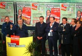 Massimo D'Alema, Paolo Campo, Angelo Riccardi, Franco Ognissanti, G.Dicembrino (Stato '10)