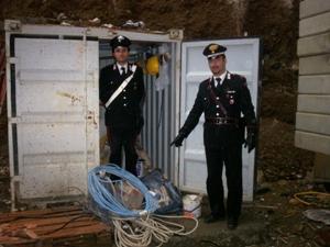 carabinieri furto (immagine d'archivio)
