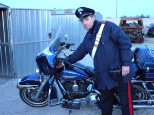 L'Harley Davidson nella quale era nascosta la droga