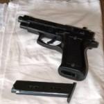 pistola ritrovata nella masseria di Silvestri