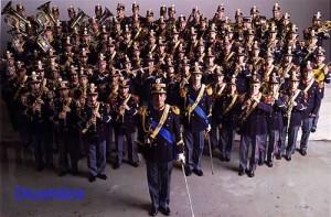Corpo polizia, immagine d'archivio