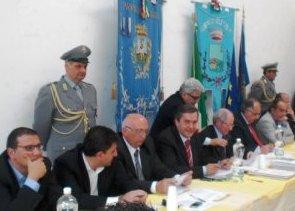 Consiglio provinciale nel centro polifunzionale delle Isole Tremiti (image M.Palumbo)